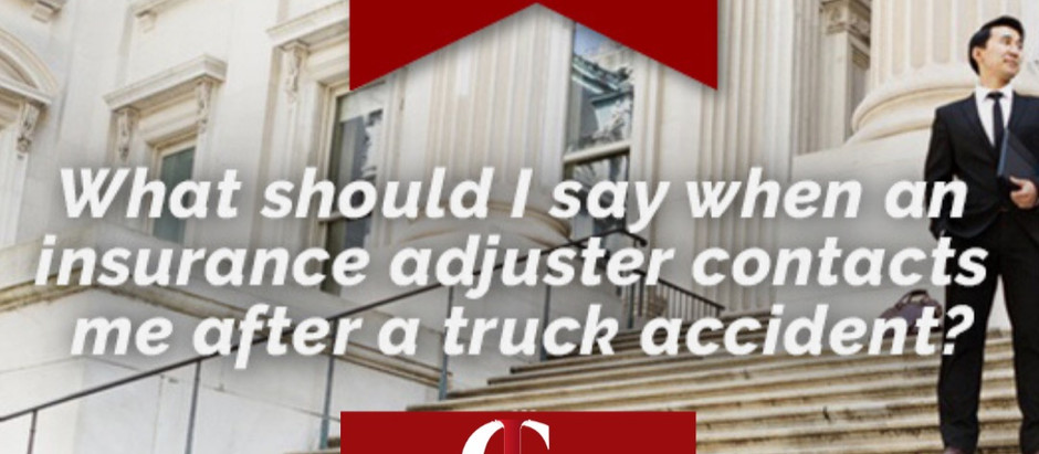 Should I Agree to Give a Statement or Recorded Statement to the Insurance Company Adjuster