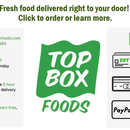 Fresh Food Delivered to your Door?!