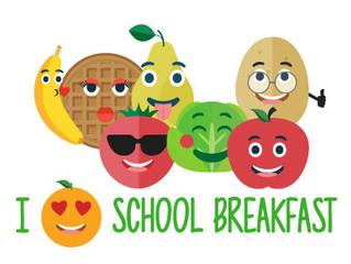 National School Breakfast Week is March 5-9, 2018