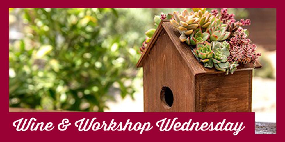 Sedum Birdhouse