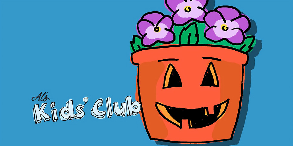 Spooky Fall Planter
