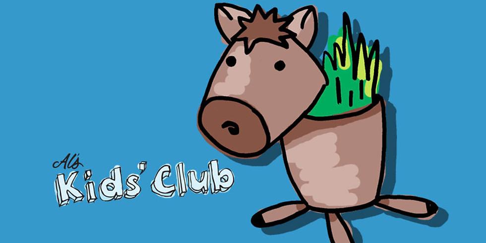Peat Pot Horses