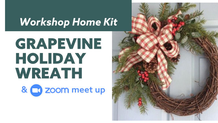 Grapevine Holiday Wreath