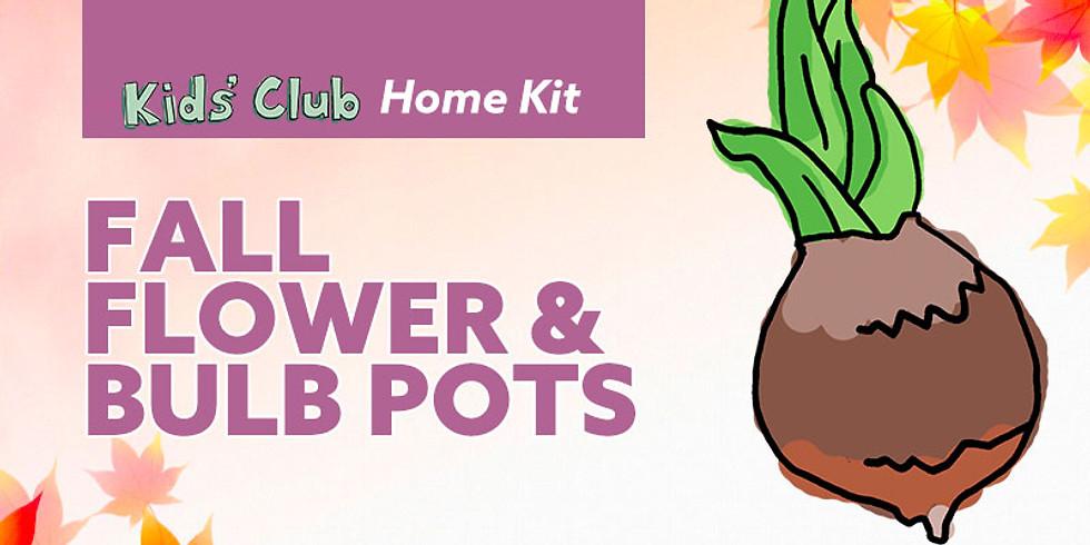Fall Flower & Bulb Pots
