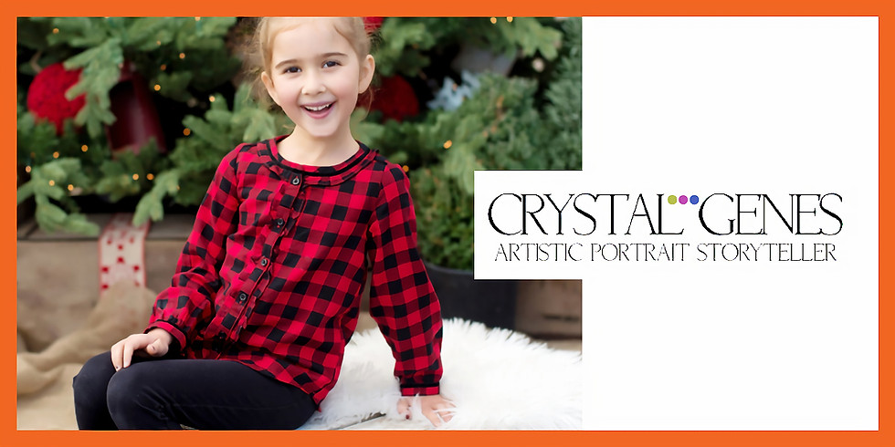 Holiday Mini Sessions with Crystal Genes Photography