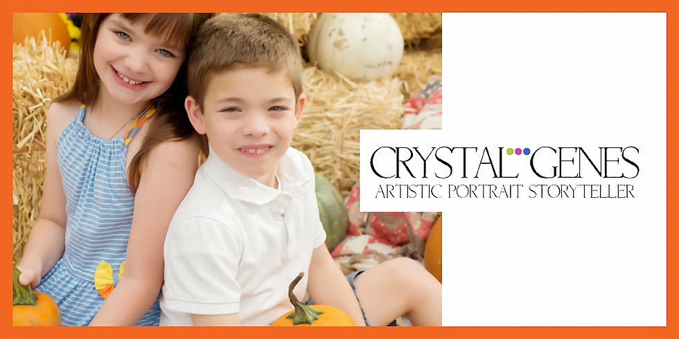 Pumpkin Harvest Mini Sessions with Crystal Genes Photography