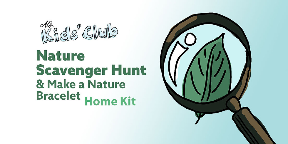 Nature Scavenger Hunt & Make a Nature Bracelet