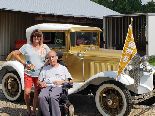 """""""My ease cushion has made it possible for me to stay actively involved in my antique car business.."""""""