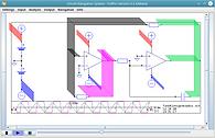 triangular rectangular voltage generator in Spice simulation and CNS animation