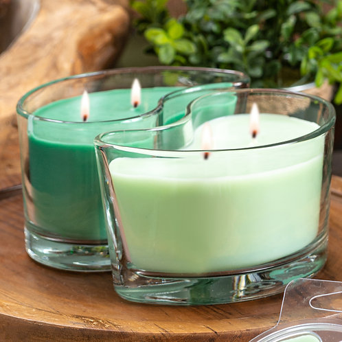 Large DUOS Candles - Mountain Evergreen/Balsam Fir