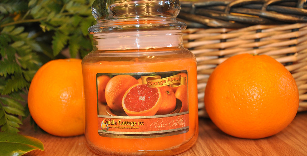 Medium Apothecary - Orange Apeel
