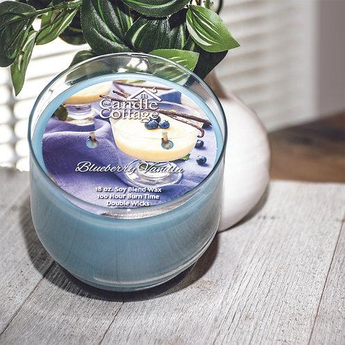 Pedestal Candles - Blueberry Vanilla
