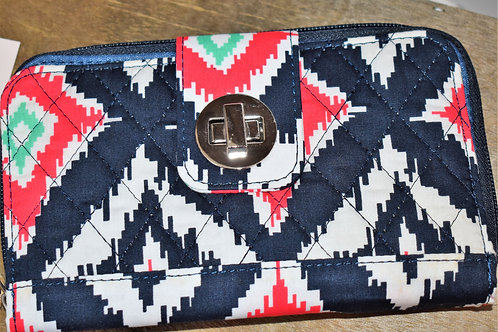 Tribal Quilted Wallet