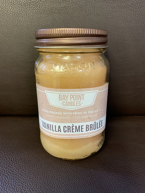 Bay Point Candle - Vanilla Crème Brulee