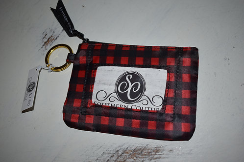 Southern Couture ID Wallet - Buffalo Plaid