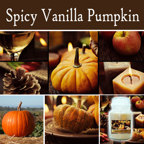 Spicy Vanilla Pumpkin