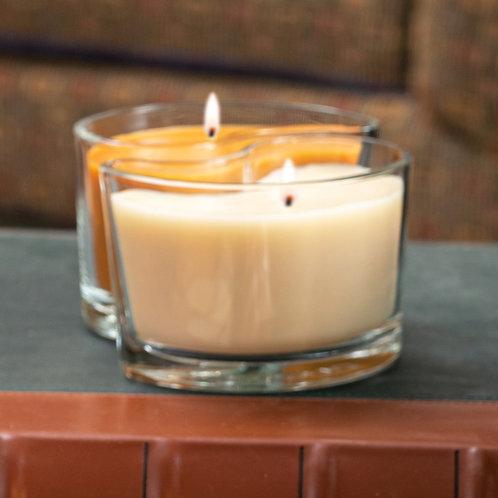 Medium DUOS Candles - Cinnamon Spice/Decadent Pumpkin
