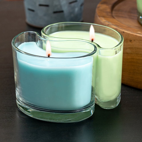 Medium DUOS Candles - Tropical Paradise/Sandy Beaches
