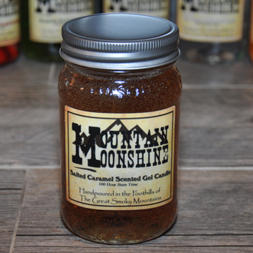 Salted Caramel Moonshine Candle