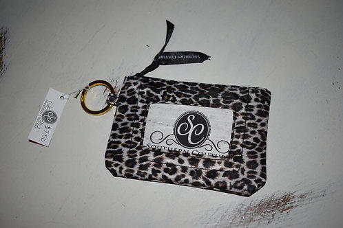 Southern Couture ID Wallet - Leopard