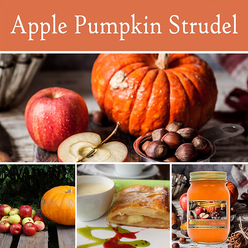 Apple Pumpkin Strudel