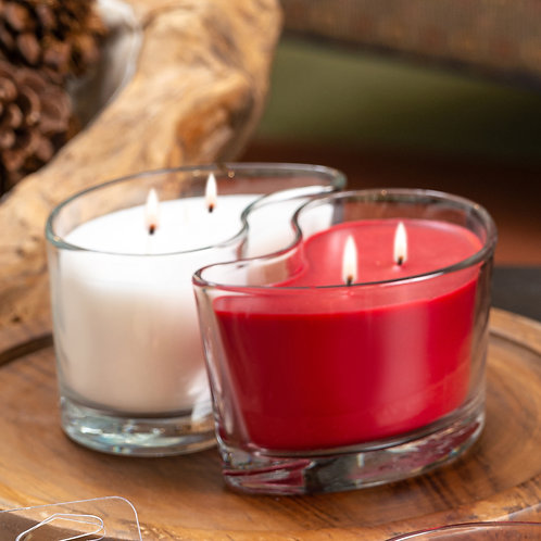 Large DUOS Candles - Wild Currant Berry/Vanilla Silk