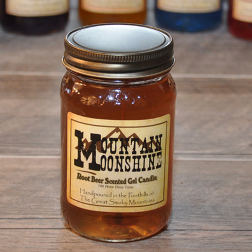 Rootbeer Moonshine Candle