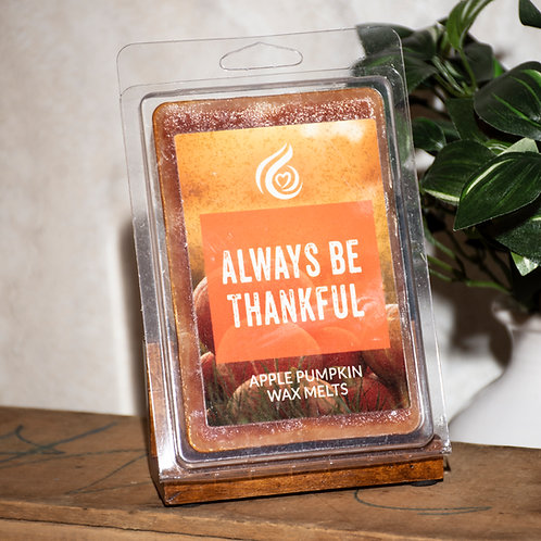 Always Be Thankful - Apple Pumpkin