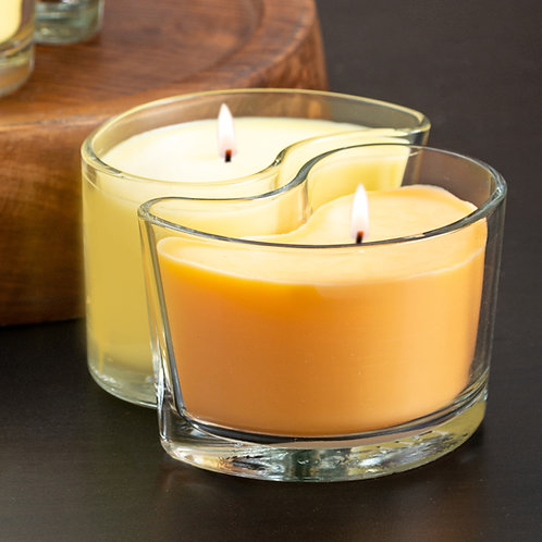 Medium DUOS Candles - Mango Papaya/Mandarin Bergamot
