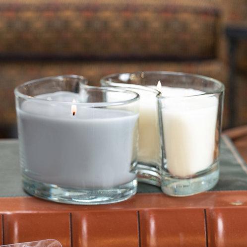 Medium DUOS Candles - Bonfire Embers/Sandalwood