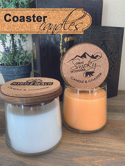 Coaster Candles - Qty. 72