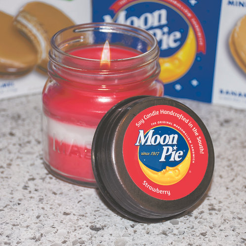 Moonpie Candles - Strawberry