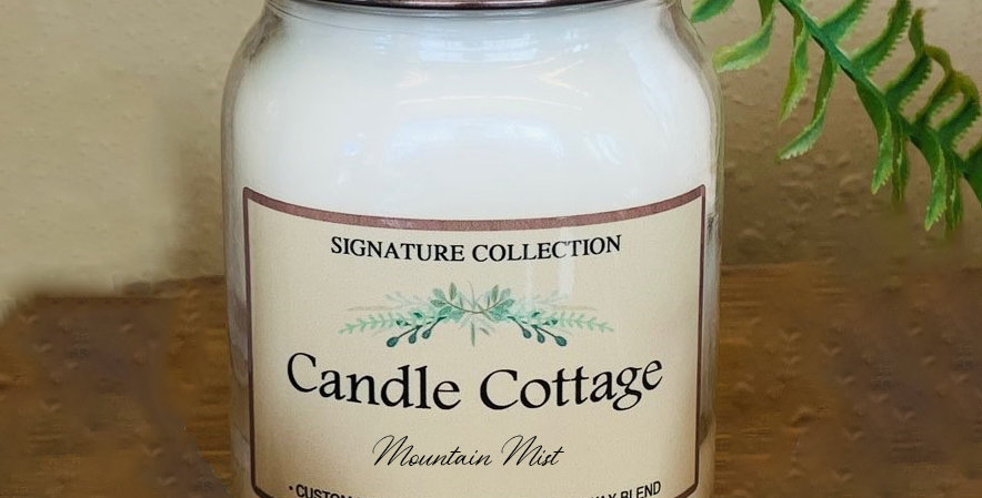 Signature Collection Mason Jar -Mountain Mist