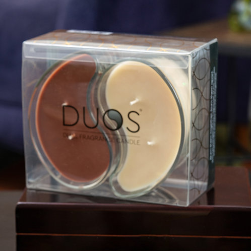 Large DUOS Candles - Mocha/Cappuccino