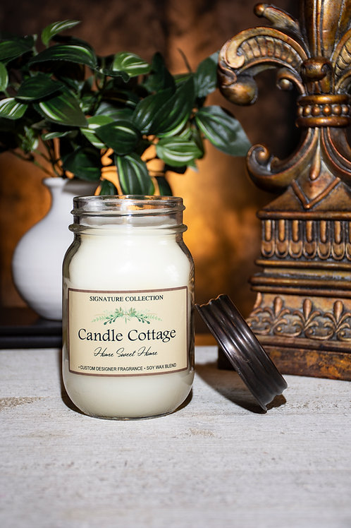 Signature Mason Jar - Home Sweet Home