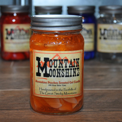 Moonshine Peaches Moonshine Candle