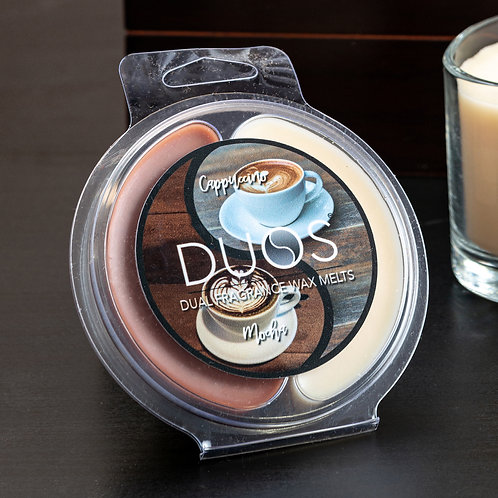 DUOS Wax Melts Candles - Mocha/Cappuccino