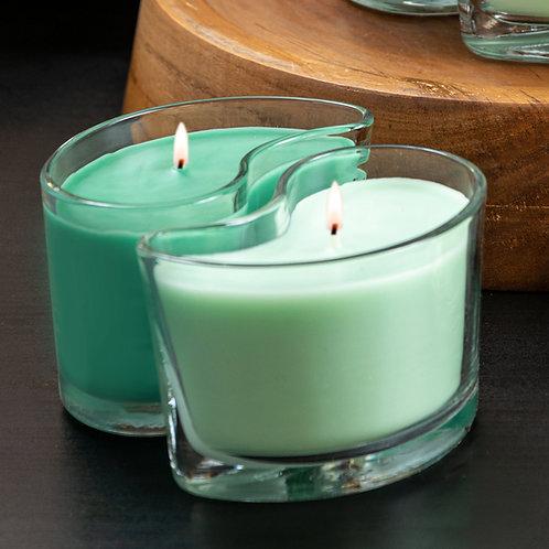 Medium DUOS Candles - Mountain Evergreen/Balsam Fir