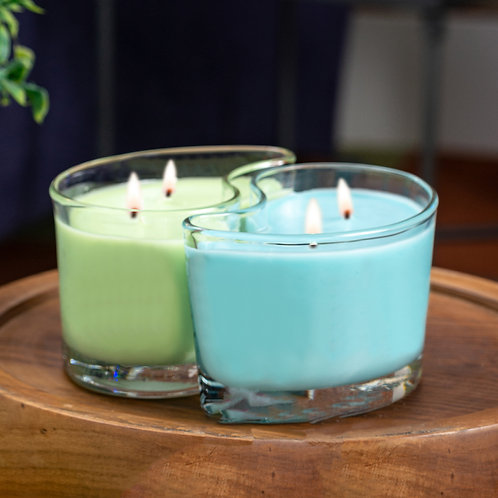 Large DUOS Candles - Tropical Paradise/Sandy Beaches
