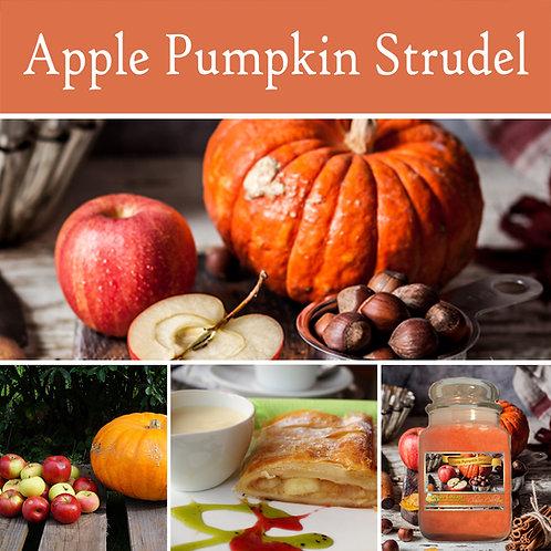 Apple Pumpkin Strudel