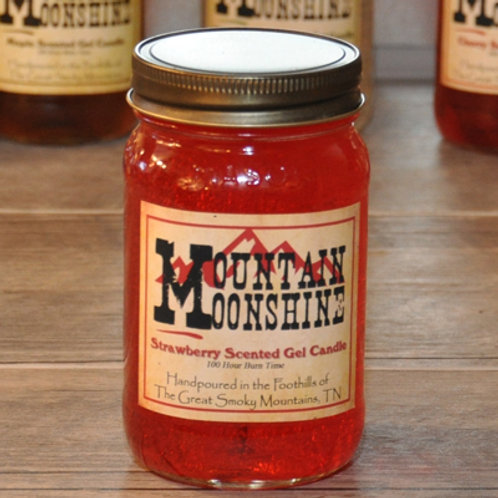 Strawberry Moonshine Candle