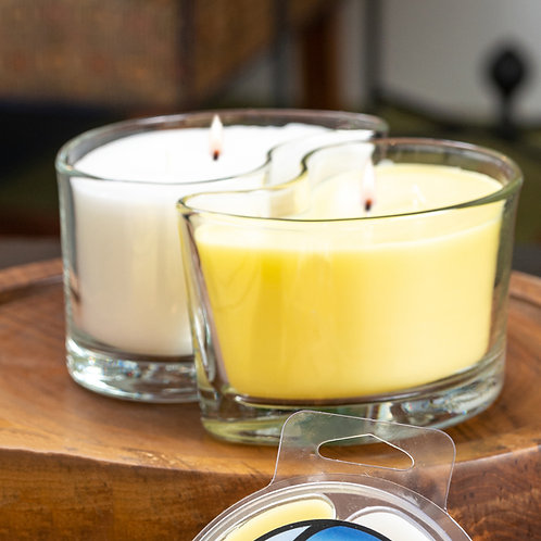 Large DUOS Candles - Pineapple Tropics/Coconut Palm