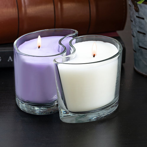 Medium DUOS Candles - Lavender Blossoms/Vanilla Velvet