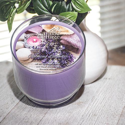 Pedestal Candles - Calming Lavender