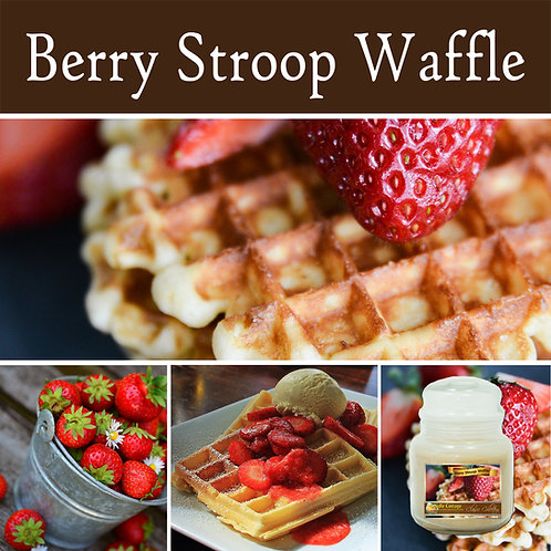 Berry Stroop Waffle