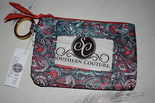 Southern Couture ID Wallet - Paisley