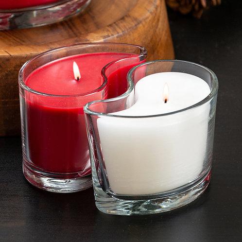 Medium DUOS Candles - Wild Currant Berry/Vanilla Silk