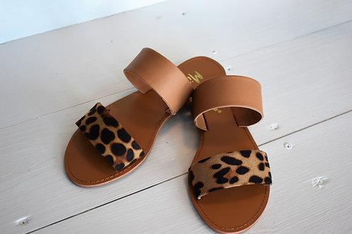 Roy Cheetah Sandals