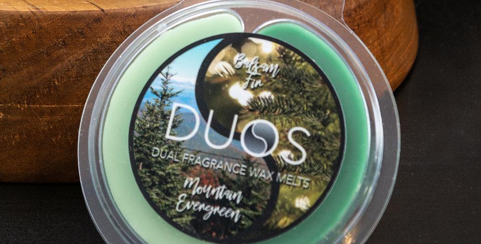 DUOS Wax Melts Candles - Balsam Fir/Mountain Evergreen