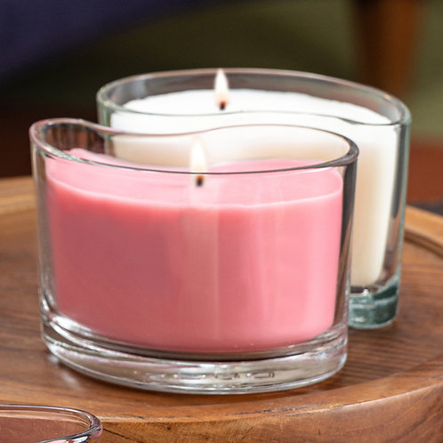 Medium DUOS Candles - Pink Magnolia/Spring Blossoms